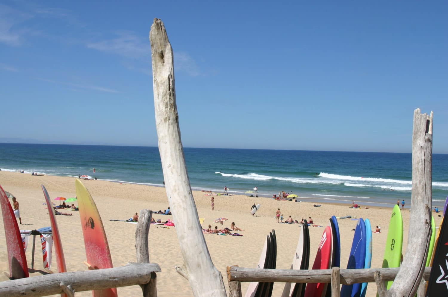 Surf à Seignosse Landes