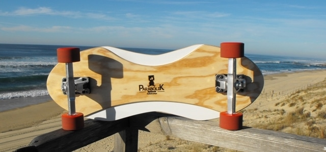 Des skates ParaboliK made in Landes