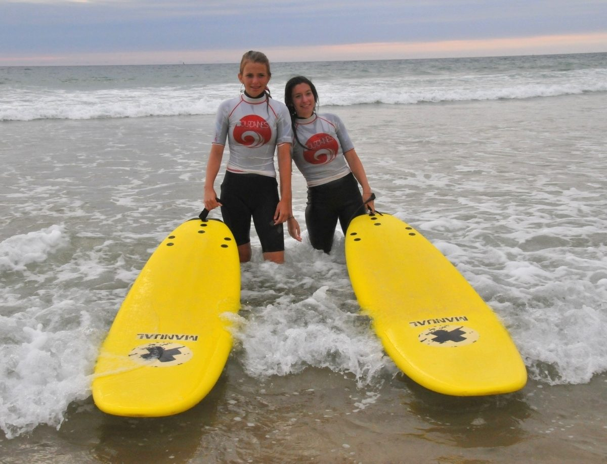 Bourdaines surf school