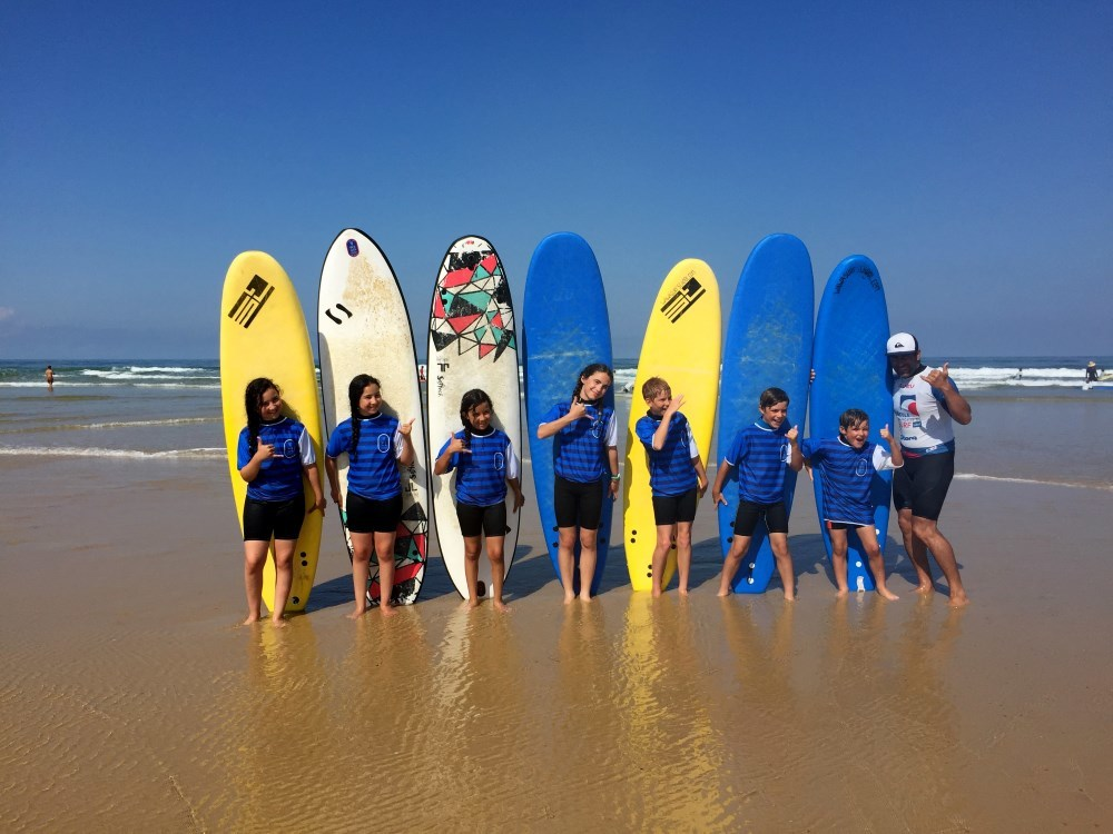 Wawa surf school 2018
