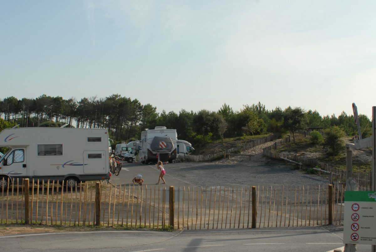 CAMPING CAR PARK MESSANGES