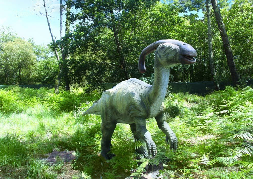 Dinosaures parc-Azur-OTI LAS-parasaurolophus