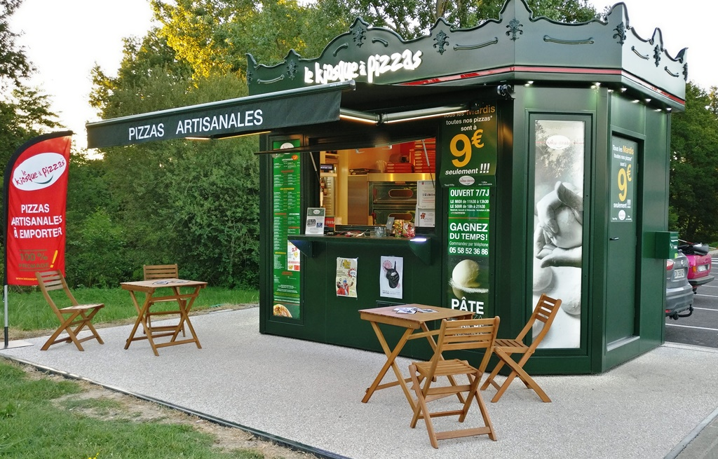 Kiosque à pizzas