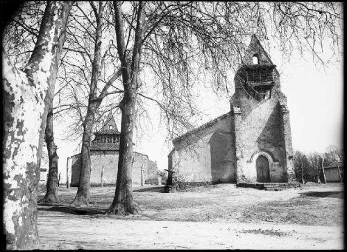 Moustey les deux Eglise F.Arnaudin