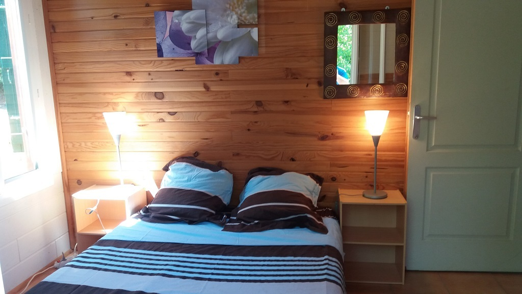 Noyer chalet – chambre 2pers