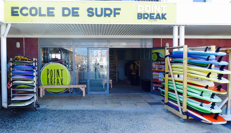 Point Break vitrine