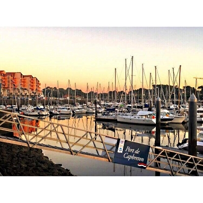 Port capbreton – sunset 2