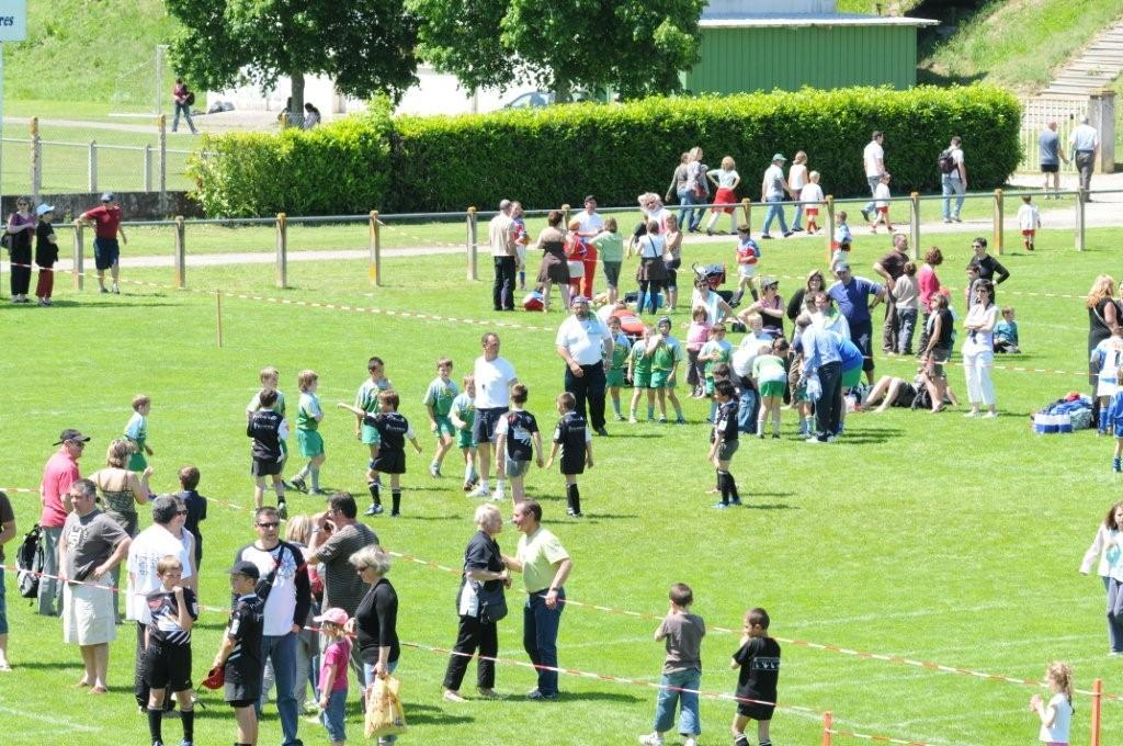 Tournoi rugby stade