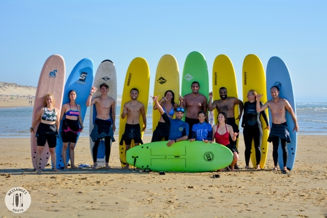 messanges surf